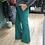 Thumbnail: Pantalone a zampa color verde smeraldo
