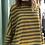 Thumbnail: Maglia scatoletta in cotone a righe