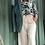 Thumbnail: Pantalone Alysi cady ampio color burro