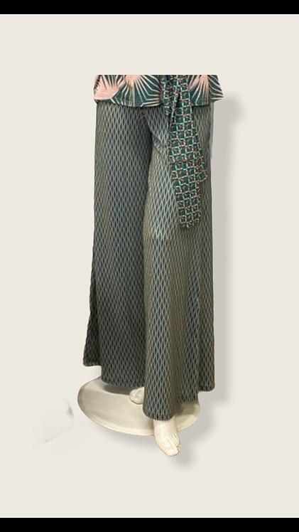 Pantalone morbido wave shiny