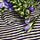 Thumbnail: Lupetto stripes Alysi knit color viola