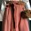 Thumbnail: Pantalone cupro effetto ampio color fard