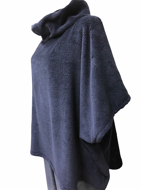 Poncho in pile - orsetto Teddy