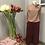 Thumbnail: Gonna pantalone velvet color bordeaux