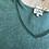 Thumbnail: T-shirt Medyna scollo V bordo ajour M/lunga
