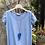 Thumbnail: T-shirt a V M/manica sormontata