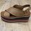 Thumbnail: Sandalo zeppa intrecciato