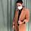 Thumbnail: Giacca blazer Alysi velvet color canyon