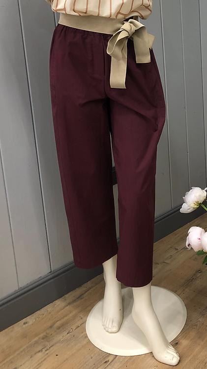 Pantalone popeline