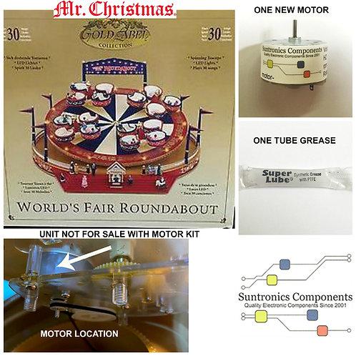 Mr. Christmas World's Fair Roundabout (Tea Cup)