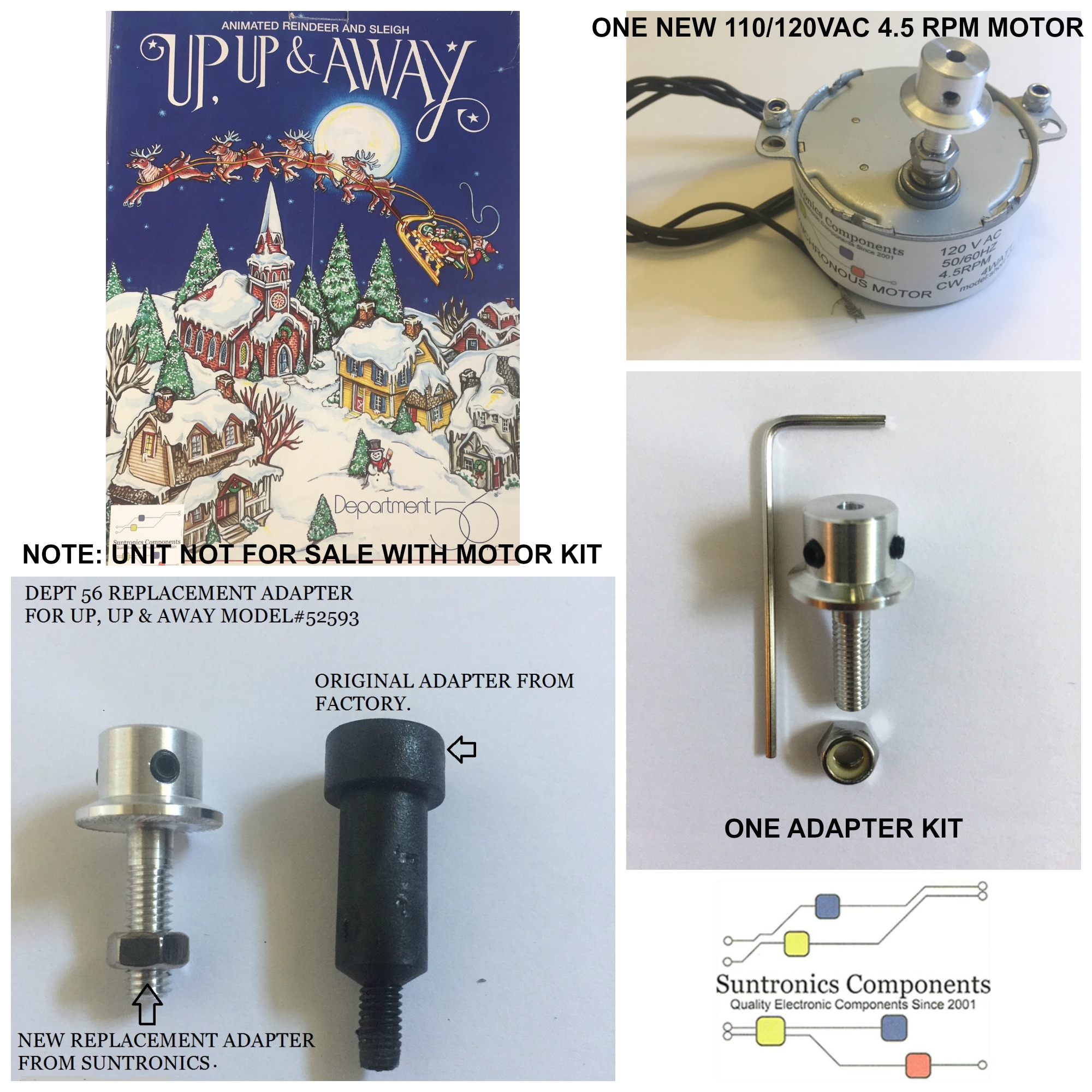 PicMonkey Image DEPT 56 UP UP&AWAY MOTOR KIT WITH ADAPTER1