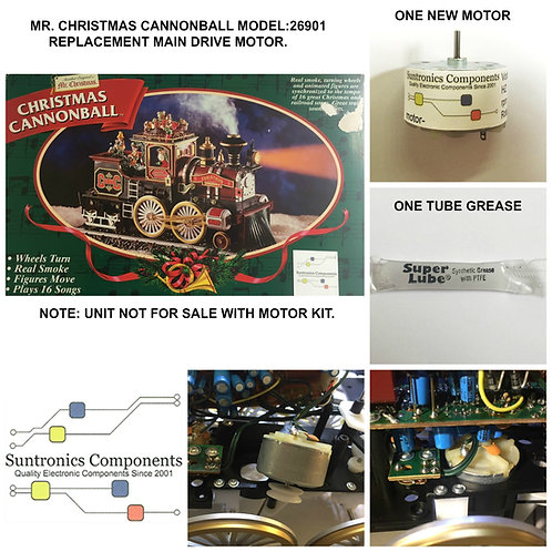 MR CHRISTMAS -CANNONBALL TRAIN  -REPLACEMENT PART - MOTOR KIT