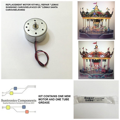 Lemax Sunshine Carousel model#14325- replacement motor parts kit