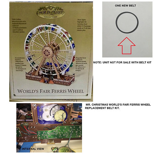 MR. CHRISTMAS World's Fair Ferris Wheel REPLACEMENT B