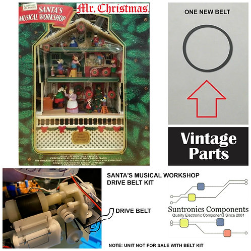 Mr. Christmas Santa's Musical  Workshop