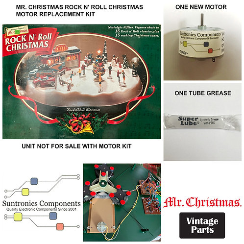 "Mr. Christmas ""Rock N' Roll Christmas"" Motor kit"