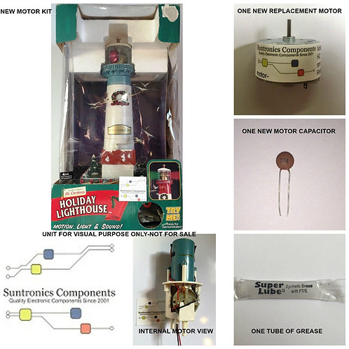 MR CHRISTMAS -Holiday Lighthouse -REPLACEMENT PART - MOTOR KIT