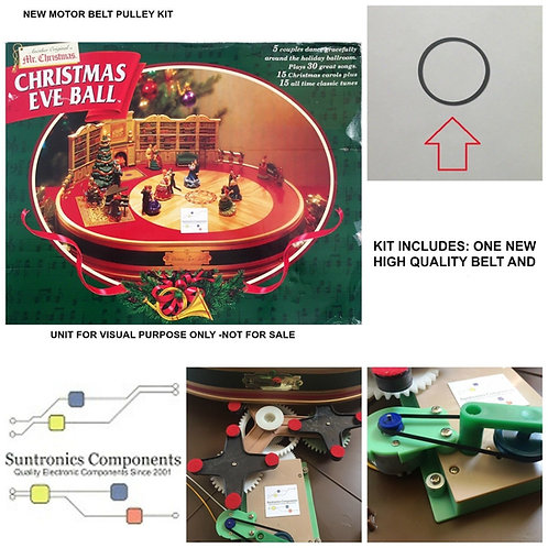 MR CHRISTMAS -Christmas Eve Ball -REPLACEMENT PART - PULLEY BELT