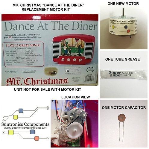 "Mr. Christmas "" Dance At The Diner """