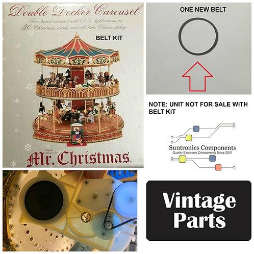 Mr. Christmas Nottingham Fair Double Carousel Belt
