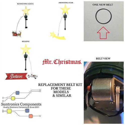 Mr. Christmas Revolving Animated Tree Toppers or Similar Belt