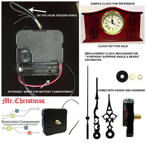 Mr. Christmas Symphony Surprise Clock Mechanism