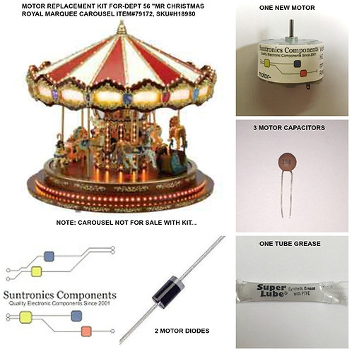 Mr Christmas Royal Marquee Carousel-Item#79172
