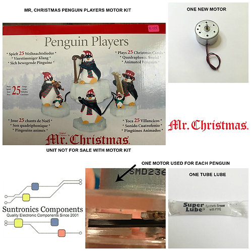"Mr. Christmas ""Penguin Players"" Motor kit"