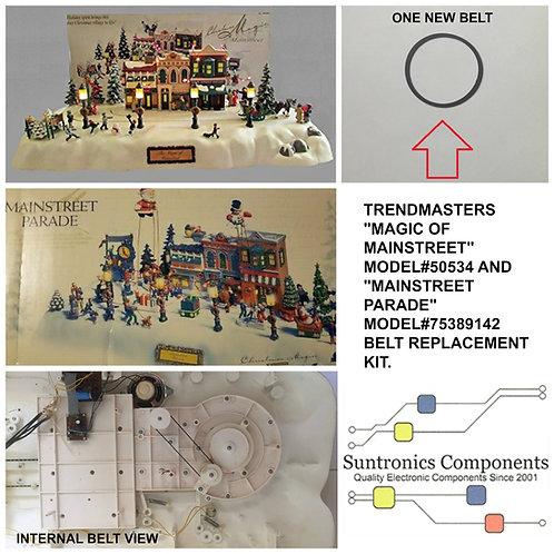 "Trendmasters ""Magic Of Mainstreet"" and ""Mainstreet Parade"" Belt kit"