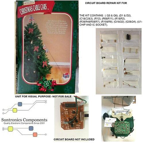 MR. CHRISTMAS CABLE CARS-Circuit Board repair kit
