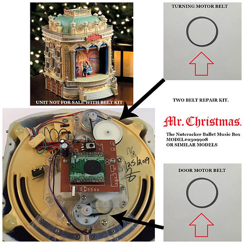 Mr. Christmas The Nutcracker Ballet Music Box