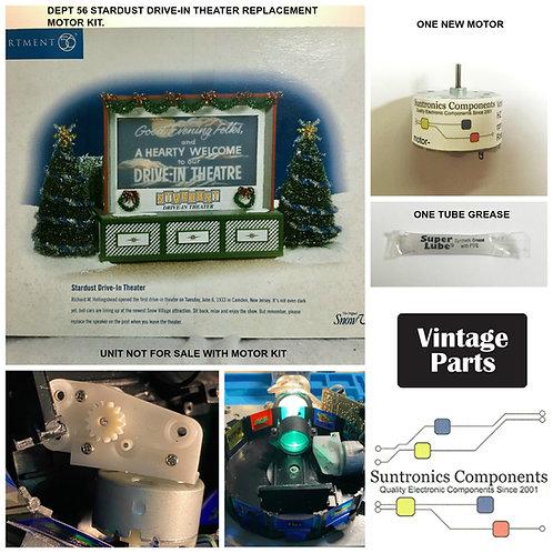 Dept 56 StarDust Drive-In Theater motor kit
