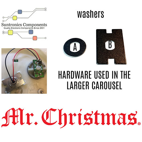 Mr Christmas pick a washer (A) or (B)