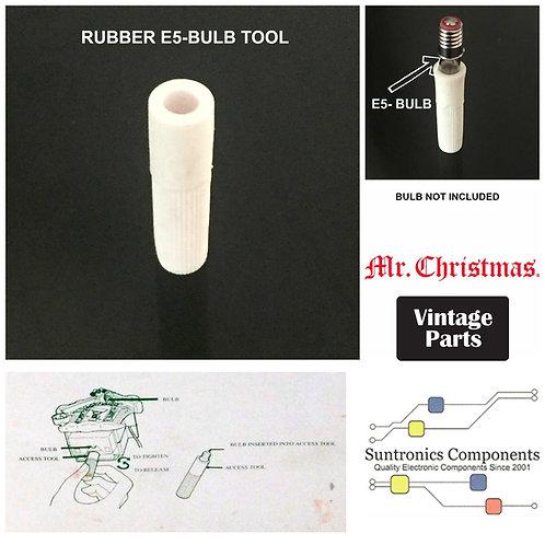 MR. CHRISTMAS RUBBER E-5 BULB TOOL ORIGINAL 1990'S