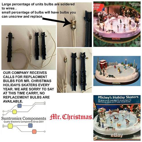Mr. Christmas Holiday Skaters Bulbs