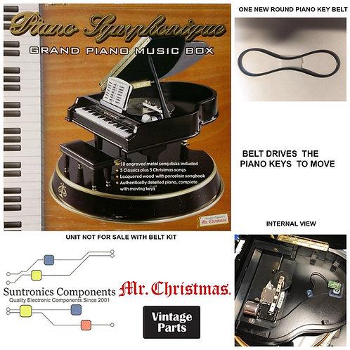 Mr. Christmas piano Symphonique Music Box REPLACEMENT BELT KIT