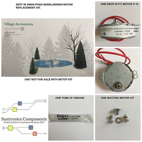 DEPT 56 Animated Swan Pond-model:809009- REPLACEMENT MOTOR -PARTS KIT