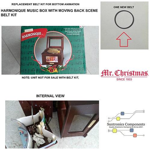 MR. CHRISTMAS HARMONIQUE MUSIC BOX REPLACEMENT BELT KIT