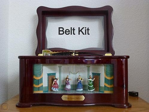 Mr. Christmas Village square ballroom Belt Kit.