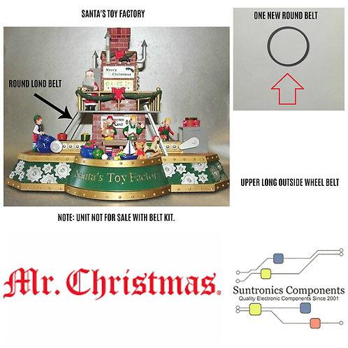 "MR CHRISTMAS ""Santa's Toy Factory "" UPPER WHEEL BELT - PULLEY BELT"