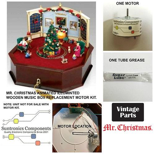 Mr. Christmas Animated Illuminated Wooden music Box