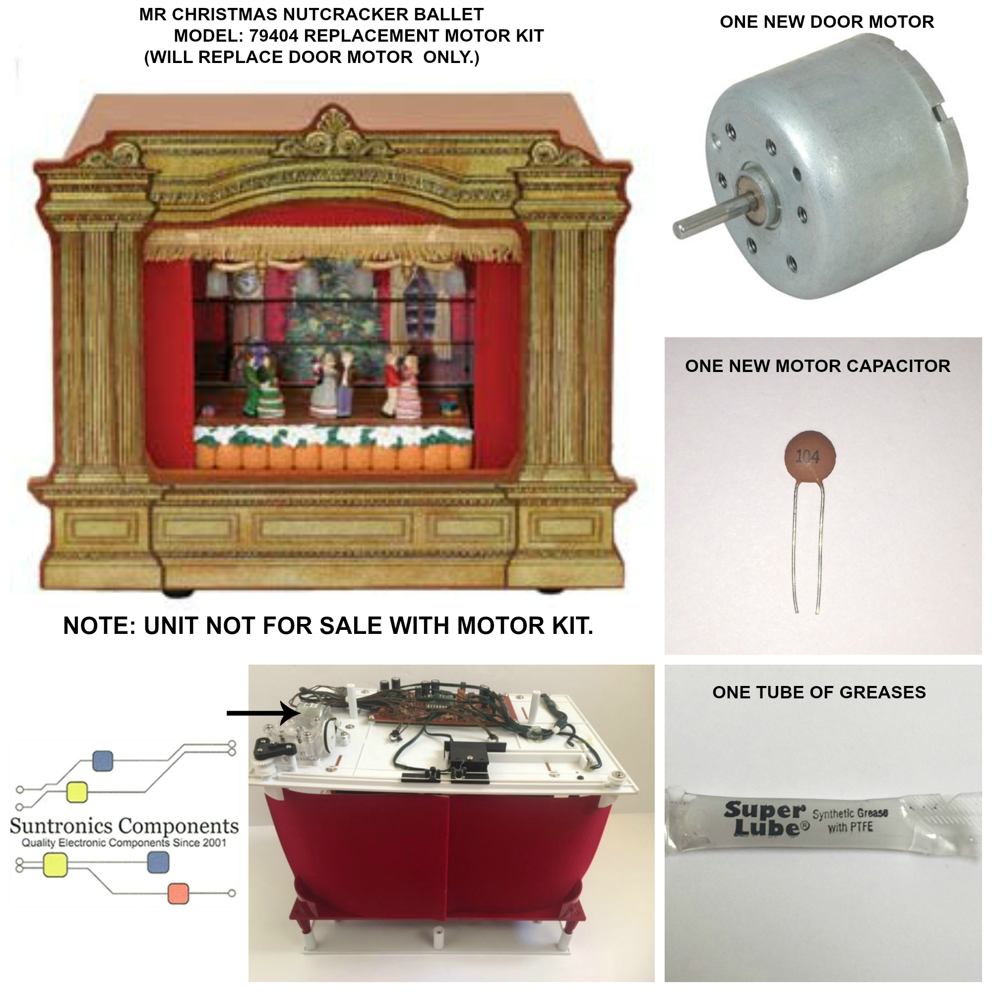 PicMonkey Image MR CHRISTMAS NUTCRACKER BALLET MODEL 79404 DOOR MOTOR.JPG
