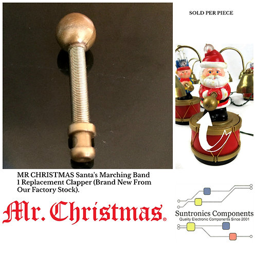 MR CHRISTMAS Santa's Marching Band One Replacement Clapper