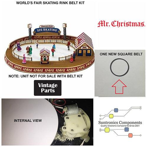 Mr. Christmas World's Fair Skating Rink DRIVE BELT PART