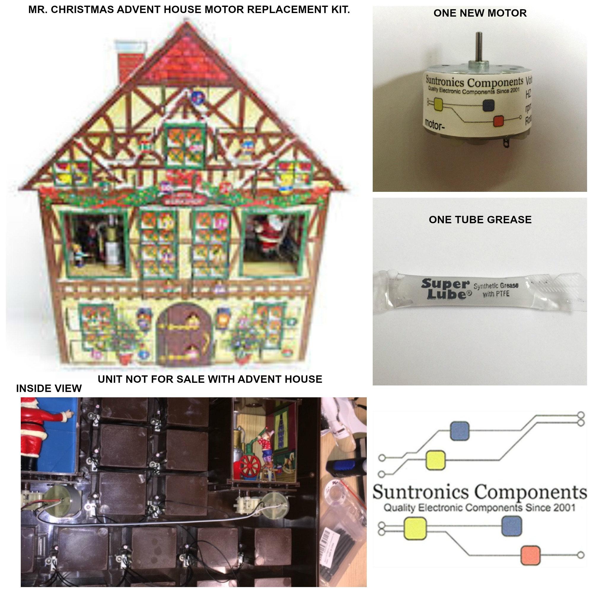 Christmas Advent House.Mr Christmas Advent House Motor Kit
