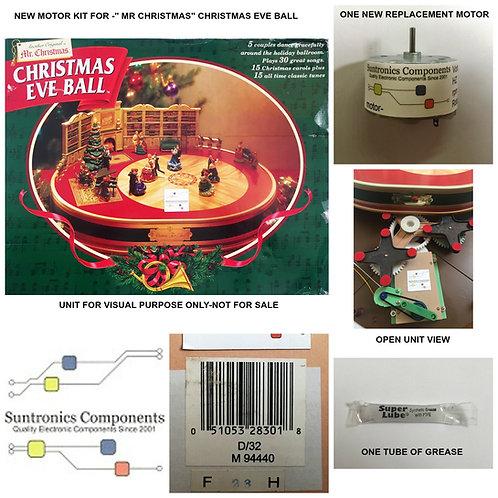 MR CHRISTMAS -Christmas Eve Ball -REPLACEMENT PART - MOTOR KIT