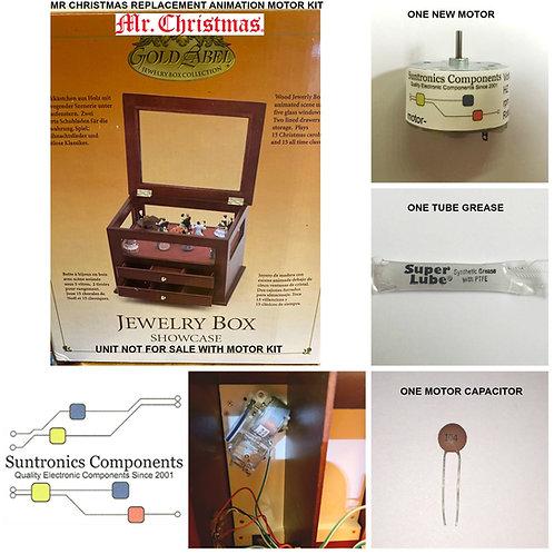 "Mr. Christmas ""Jewelry Box Showcase"" motor kit"
