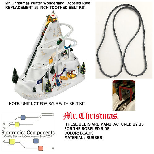 Mr. Christmas Winter Wonderland, Bobsled Ride Belt