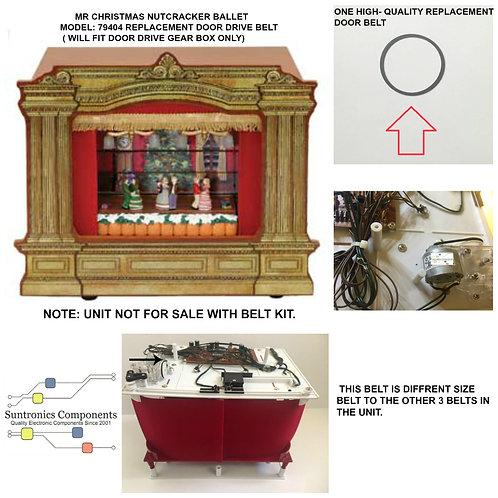 Mr. Christmas Nutcracker ballet -1  Door Belt Repair kit model# 7940