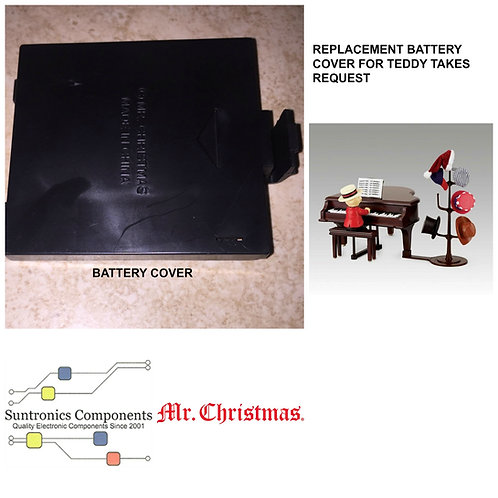MR. Christmas Teddy Takes Request Battery Cover